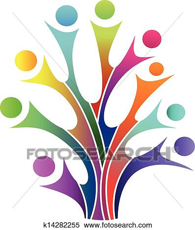 Clipart Of Family Tree Symbol K14282255 Search Clip Art
