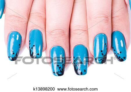 Stock Photography Of Fashion Concept With Nail Art K13898200