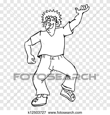 Fat Man Clip Art K12503727