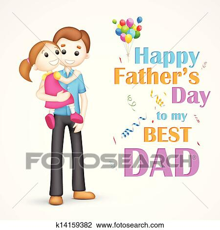 clipart of father and daughter in in father s day k14159382 search rh fotosearch com parents and daughter clipart father and daughter hugging clipart