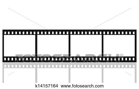 Stock Photo of film picture frames k14157164 - Search Stock Images ...