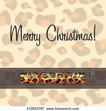 Clip Art - fröhlich, christmas! k12653787 - Suche Clipart, Poster ...