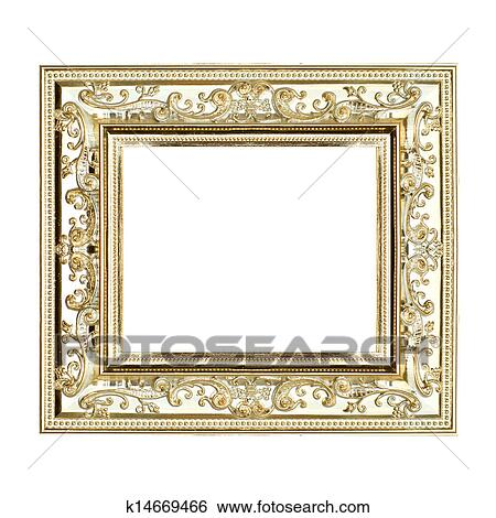 Stock Images of gilt frame k14669466 - Search Stock Photography ...