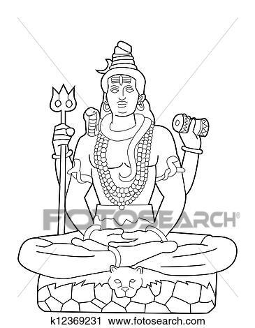 God Shiva Clipart
