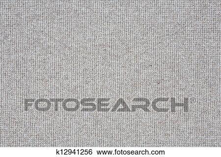 Grey carpet closeup Stock Photograph