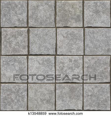 Stock Photograph Of Grey Stone Bricks Floor Texture K13548859