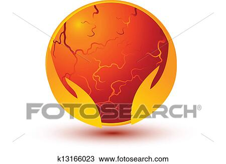 Hands And Ball Prediction Vector Clipart K13166023 Fotosearch