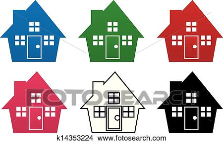 Sparen Sie ein Haus oder ein : Stockfoto (Jetzt bearbeiten) 370975826