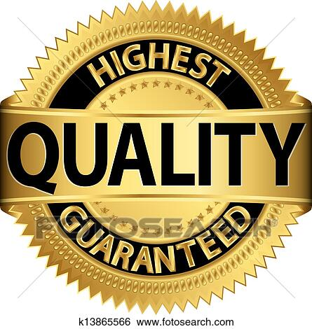 clip art of highest quality guaranteed golden l k13865566 search rh fotosearch com high quality clip art free high quality clip on earrings