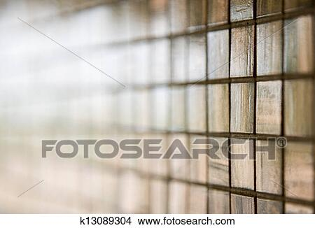 Glas Mozaiek Tegels : Stock foto hippe glas mozaïek tegels op een muur vloer