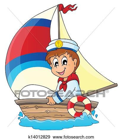 clip art of image with sailor theme 3 k14012829 search clipart rh fotosearch com sailor clipart gifs sailor clipart free