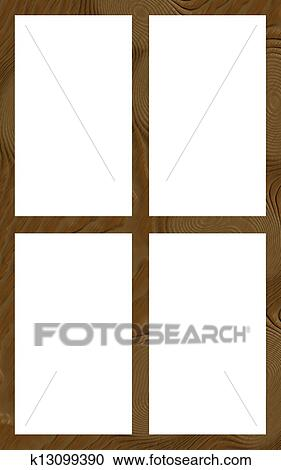 stock illustrations of isolated window frame 4w flat k13099390 rh fotosearch com  free window frame clipart