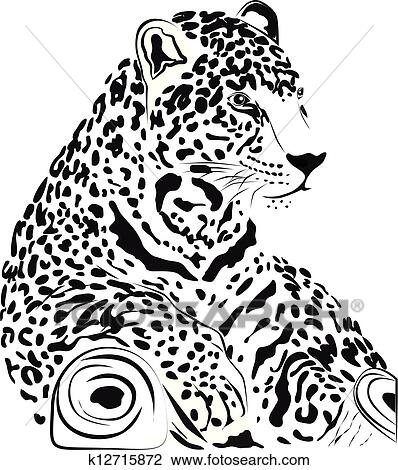 Clipart Of Jaguar K12715872