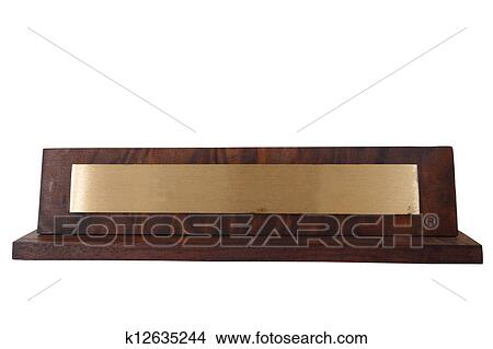 Stock photo of name plate k12635244 search stock images for Mural name plate