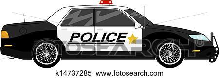 Patrol car Clipart Royalty Free. 807 patrol car clip art vector ...