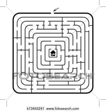 Labyrinth Clipart