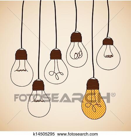 Clipart Lampadine Disegno K14505295 Cerca Clipart