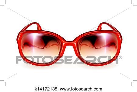 Clipart Recherchez vecteur soleil lunettes des k14172138 PUqP7xr