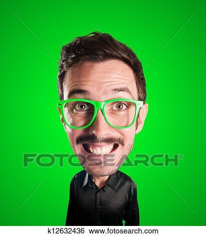 Stock Bilder Marionette Mann Mit Großer Kopf K12632436 Suche