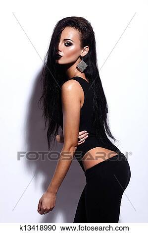 jeune sexy noir adolescent