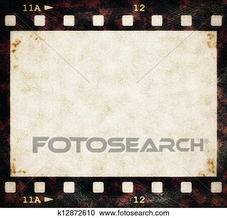 Stock Illustrations Of Old Film Strip Background Texture K12872610