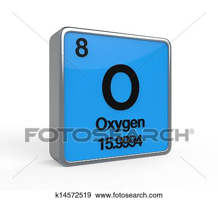 Stock illustration of oxygen periodic table k14572519 search oxygen element periodic table isolated on white background 3d render urtaz Image collections