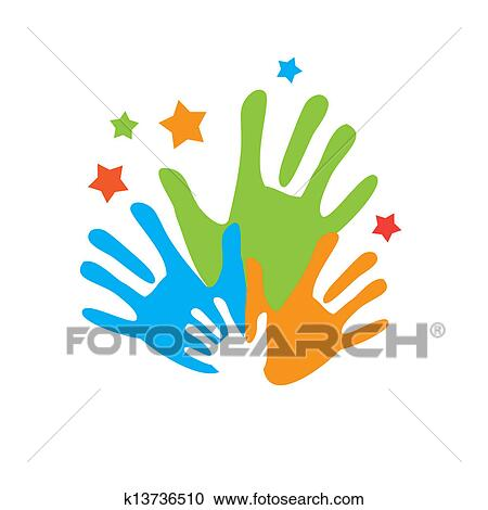 Palm Unity Clipart K13736510 Fotosearch