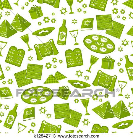 Clipart Of Passover Pattern K12842713 Search Clip Art