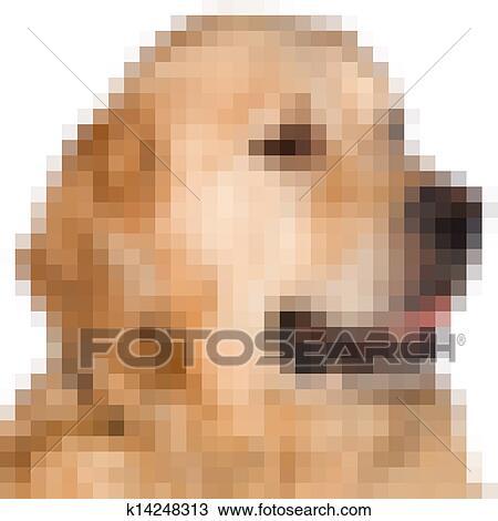 Pixels Image De A Chien Dessin