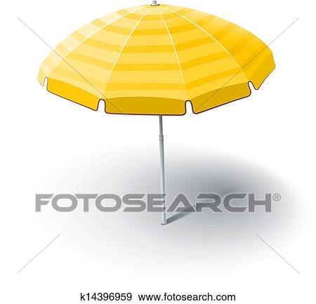 Dessin Parasol clipart - plage, parasol k14396959 - recherchez des cliparts, des