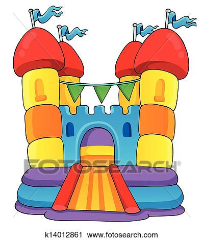clipart of play and fun theme image 2 k14012861 search clip art rh fotosearch com Carnival Clip Art Haunted House Clip Art
