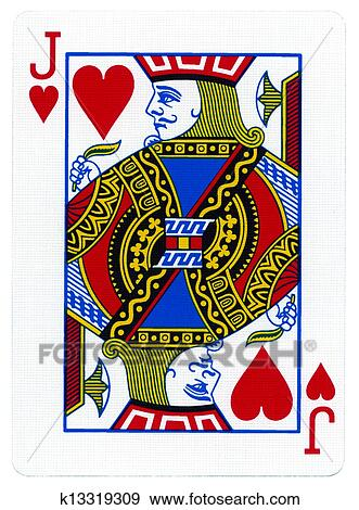 Stock Photograph of Playing Card