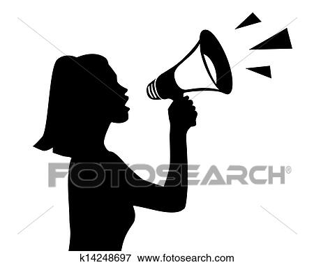 Clipart Porte Voix K Recherchez Des Cliparts Des - Porte voix
