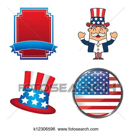clip art of presidents day k12306596 search clipart illustration rh fotosearch com presidents day clipart small presidents day clip art free