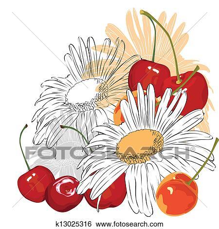 clipart_fiori_c193 Clip art di fiori