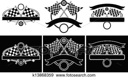 clip art of racing design templates k13868359 search clipart