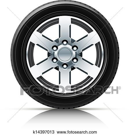 clipart roue voiture k14397013 recherchez des clip arts des illustrations des dessins et. Black Bedroom Furniture Sets. Home Design Ideas