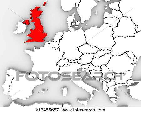 Carte Angleterre Europe.Royaume Uni Angleterre Carte Europe Nordique Grande Bretagne Banque D Illustrations