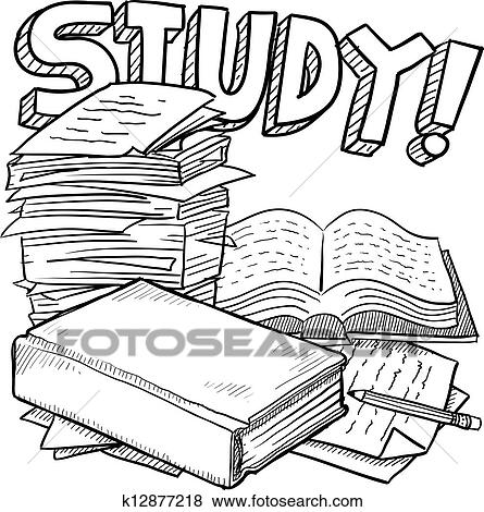 clip art of school study sketch k12877218 search clipart Strategic Plan Diagram clip art school study sketch fotosearch search clipart illustration posters drawings
