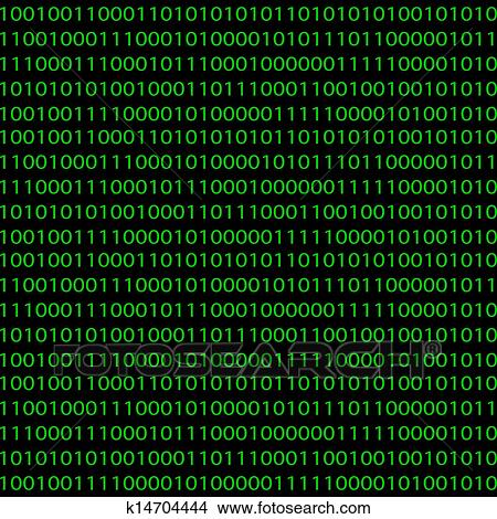 Pattern With Clipart Binary Fotosearch K14704444 Seamless