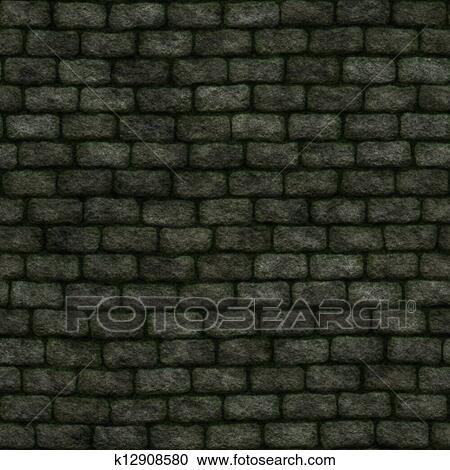 Seamless Stone Wall Background