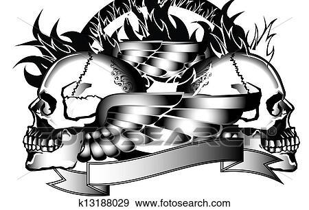 238c426c86b2c Anatomy, angel, art, background, fire, skull, danger, dark, icon,  illustration, head, shock, swings, tattoo, line thai