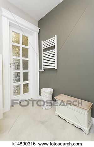Toscana, -, elegante, cuarto de baño, muebles Colección de fotografía