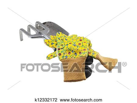 Used Garden Tools For Planting Stock Image K12332172 Fotosearch