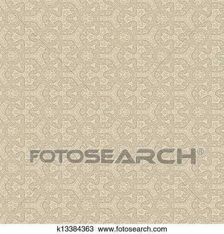 Vintage paper. Seamless texture. Drawing