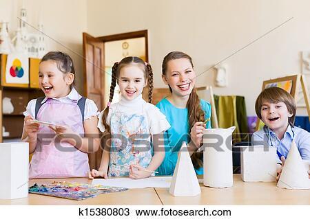 281a5a7a366 Αποθήκη Φωτογραφίας - παιδιά, ζωγραφική, και, ζωγραφική k15380803 ...