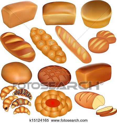 أجبر العظم بسبب رغيف الخبز أيضا أداة تعريف إنجليزية غير معروفة الأبيض Clipart K15124165 Fotosearch