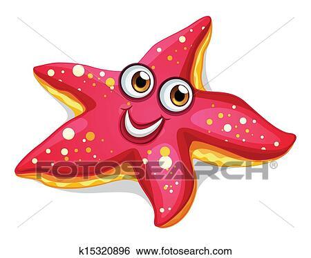 أداة تعريف إنجليزية غير معروفة باسم نجم البحر Clip Art K15320896 Fotosearch