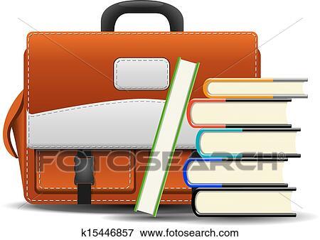 أكور إقراض المال رحمة صورة كتاب في الحقيبة Clip Art Outofstepwineco Com