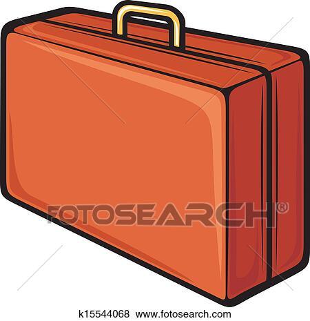 سافر حقيبة سفر Clip Art K15544068 Fotosearch